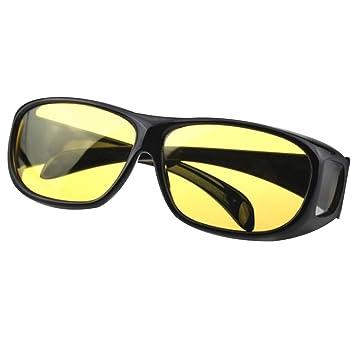 70ea1f4da257e5 tping Sport Femme Homme Lunettes de conduite de nuit, revêtement anti-reflet  et anti
