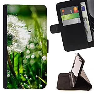 Momo Phone Case / Flip Funda de Cuero Case Cover - Planta Naturaleza Forrest Flor 43 - Sony Xperia M2
