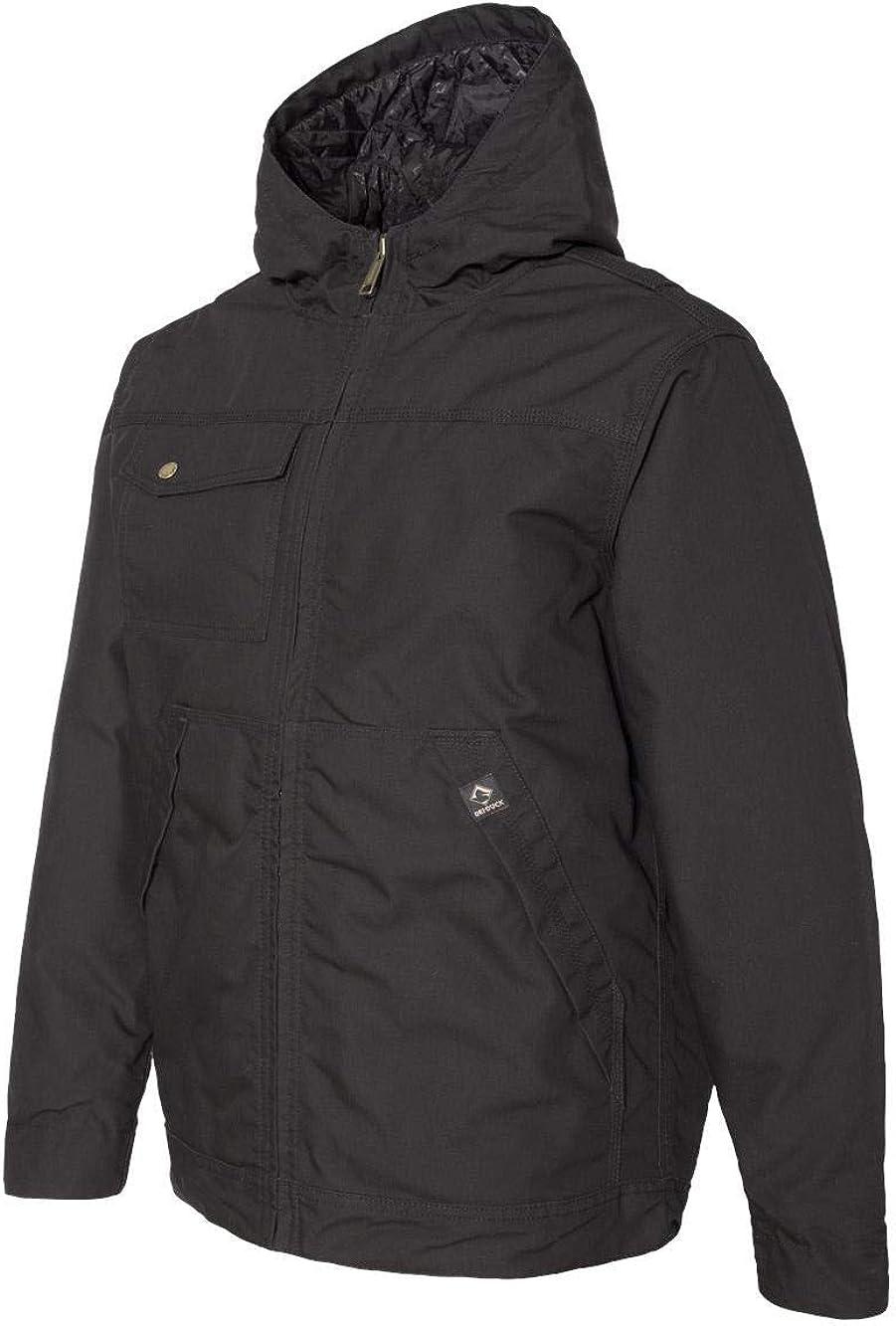 DRI Duck Mens 5065 Yukon Hooded Water Resistant Work Jacket