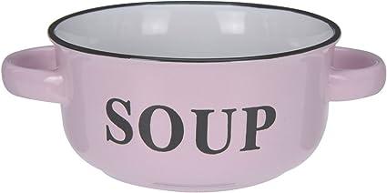 Secret Santa Cadeau Home Sweet Home Céramique Soupe Bol assorti couvercle et cuillère