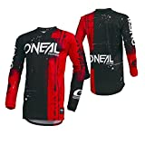 O'Neal Unisex-Child's Youth Element Jersey (Shred) (Red, Large),