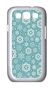 Samsung S3 Case,VUTTOO Cover With Photo: Crystallized Blanket For Samsung Galaxy S3 I9300 - PC White Hard Case