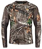 ScentLok BaseSlayers AMP Lightweight Top (Mossy Oak Country, Large)