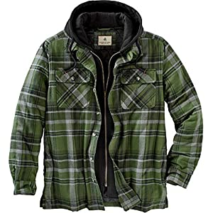 Legendary Whitetails Mens Maplewood Hooded Shirt Jacket