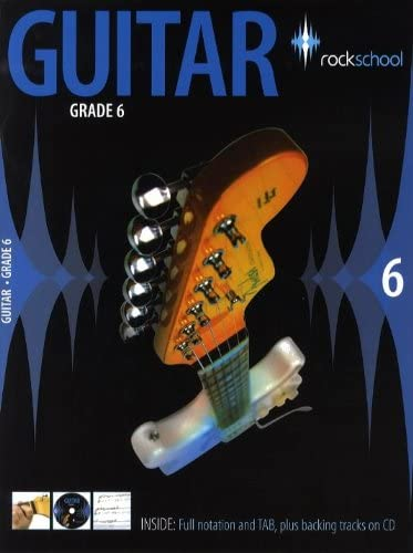Rockschool Guitar - Grade 6 (2006-2012). Partituras, CD para ...