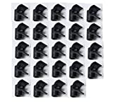 Weilan 24 Pcs Bucket Mounting PVC Mounting 1/2Inch Plastic Grommet Chicken Water Cups Accessories
