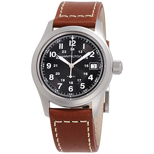Hamilton Jazzmaster Black Dial Leather Strap Men's Watch H32411735