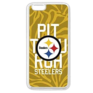 """SMMNKOL? Customized NFL Series Case for iPhone 6+ Plus 5.5"""", NFL Team Pittsburgh Steelers Logo iPhone 6 Plus 5.5"""