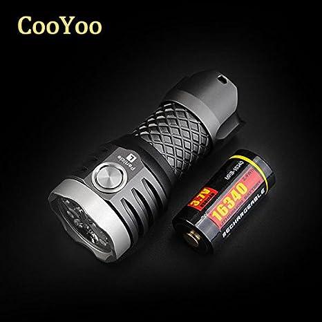 Pegasus CooYoo Particle-L Xp-g2 1000lm 16340 usb edc LED linterna