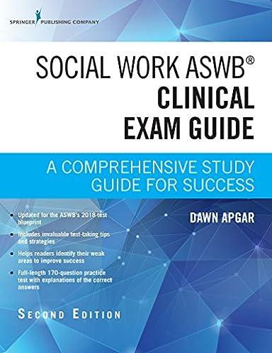 social work aswb clinical exam guide second edition a rh amazon com Exam Study Tips Nce Exam Study Guide