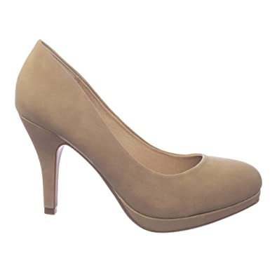 fashion discount for sale 100% genuine Comfortable Foam Padded Round Toe Classic High Heel Pump
