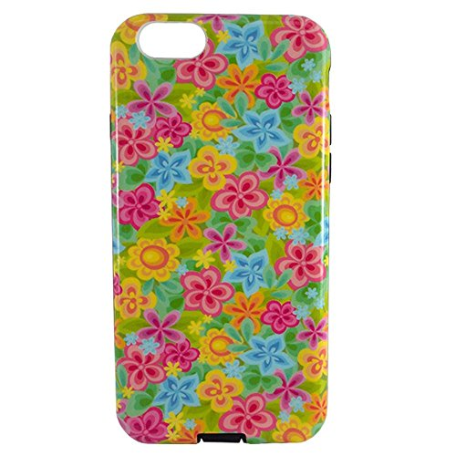 Capa Iphone 6 E 6S Tpu Flores - Idea