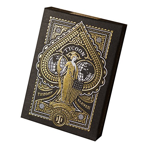 Nice Deck - Tycoon Playing Cards (Black)