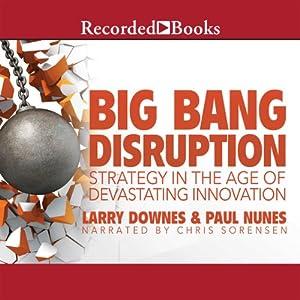 Big Bang Disruption Audiobook