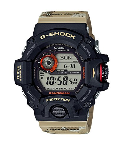 Casio G-Shock Master of G 9400 Desert Camo Series - Beige / One Size