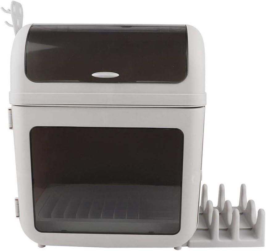 clifcragrocL Caja de Almacenamiento de Cocina Cubiertos Escurridor Escurridor multifunci/ón Cepillo de Dientes Titular de la Cocina Inicio Ba/ño de Drenaje