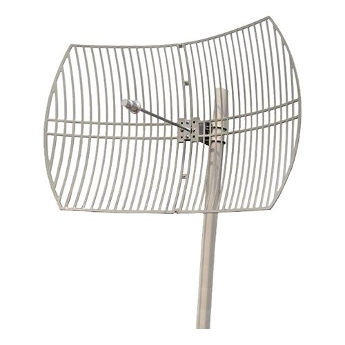 Premiertek outdoor 5ghz 30dbi directional high gain n type for Parabolic wifi antenna template