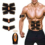 Abdominal Muscle Toning Belt muscle Fitness automatic Muti-mode electric Training Pads for Men and Women to Loss Weight (ABS training belt)