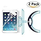 i-Deal 2pcs Anti-Blue Lights Tempered Glasses Tablet Screen Protector for iPad mini 1 iPad mini 2 iPad mini 3 Bubble-Free Installation Blocks Excessive Harmful Blue Light Great for Eyes