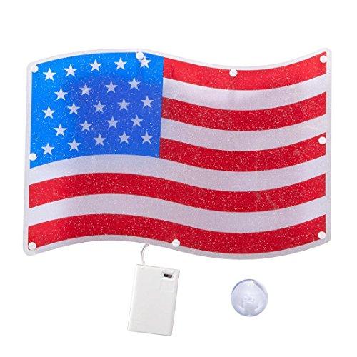 - Miles Kimball American Flag Shimmer Light