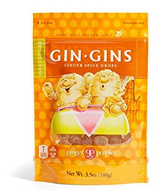 The Ginger People Gin Gins Ginger Spice Drops, 3.5 Ounce