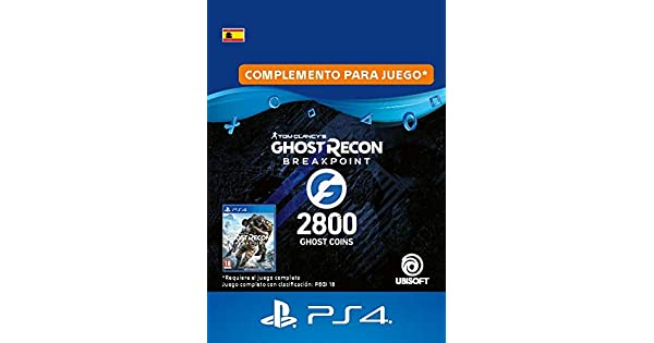 Ghost Recon Breakpoint - 2400 (+400) Ghost Coins 2800 Coins ...