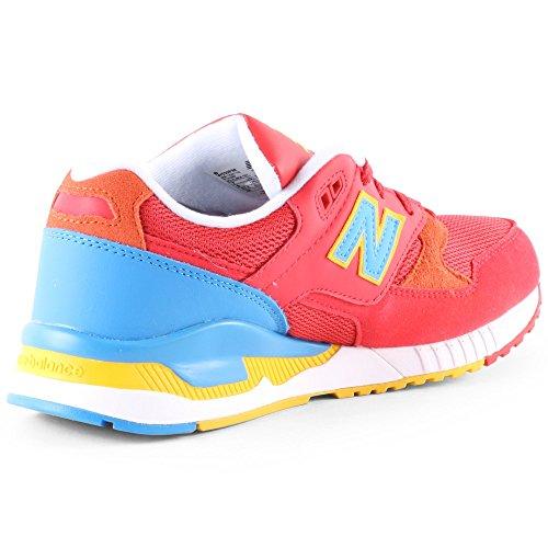 New Balance W530pim - Zapatillas Mujer rojo, azul, amarillo
