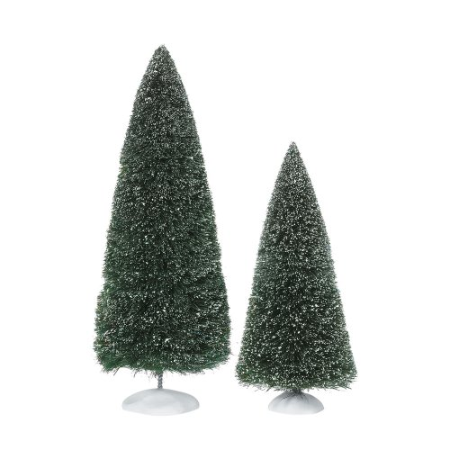 Department 56 Accessories for Villages Bag-O-Frosted Topiaries Tree Accessory Figurine