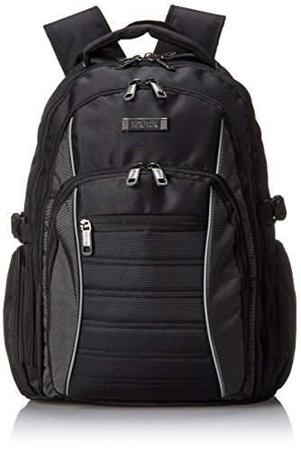 Kenneth Cole Reaction No Looking Back 1680d Polyester Triple Compartment 17.3