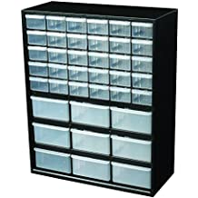 Flambeau 6576ND Parts Storage Drawer, Hardware and Craft Cabinet with 39 Drawers