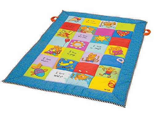 Love Big Mat - Taf Toys Baby Play Mat | Plenty Of Room To Play, Lot Of Fun For Baby, Extra Fine Fibre Padding, Animal Illustrations To Attract Baby's Attention, Easier Development And Easier Parenting