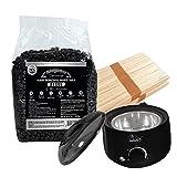 Wax Epilation Kit - Wax Necessities Barbero Men Stripless Waxing Kit with Big 35.27 oz/1 kg Wax Bag