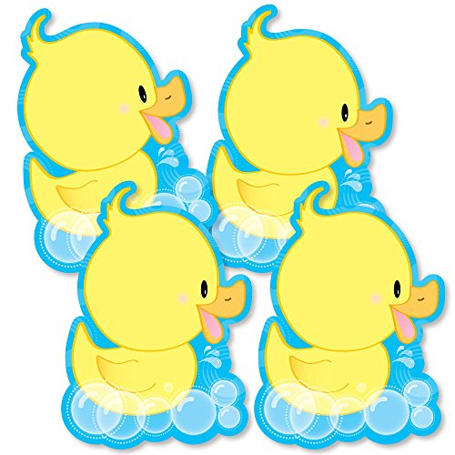 Rubber Duck Baby Shower Theme - Ducky Duck - Decorations DIY Baby Shower or Birthday Party Essentials - Set of 20