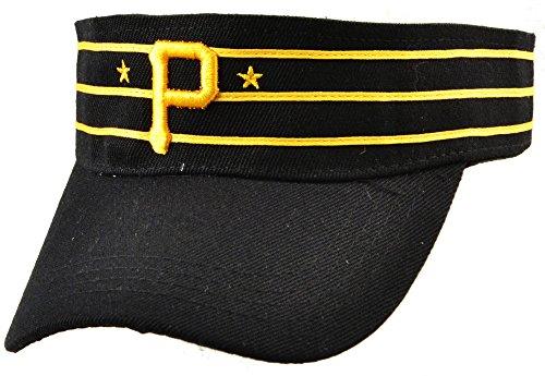 Visor - Black w/Gold P & Stars/Stripes