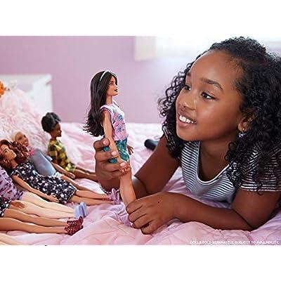 Barbie Fashionistas Doll Floral Frills (FJF43): Toys & Games