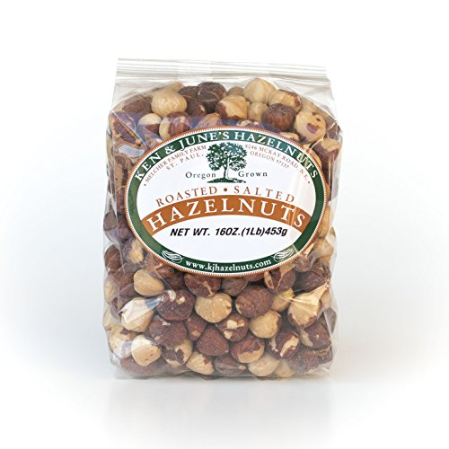 Roasted/Salted Hazelnut - 16 Oz Bag by Ken and June's Hazelnuts