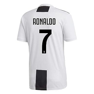 6e6f279a988 Ronaldo 7 Juventus 2018 2019 Home Men s Soccer Jersey Color White Size S