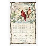 Spring Cardinals 2020 Calendar Towel