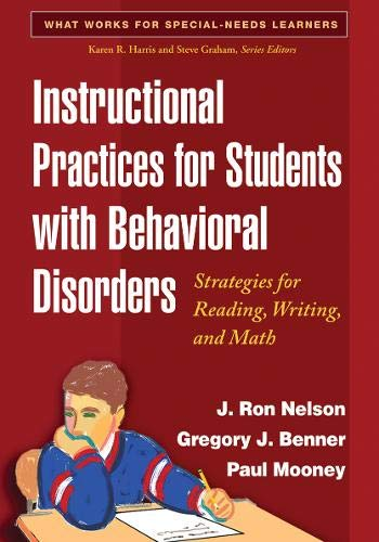 Instructional Practices for Students with Behavioral Disorders ...