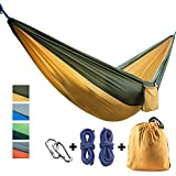 Let your summertime begins now with golden sunshine! Sleep like a Baby, feel more rested!  Our CCTRO hammocks are so comfortable you will feel like you are being cradled in the arms of Mother Nature herself.  You can enjoy the hammock on your own. Or...