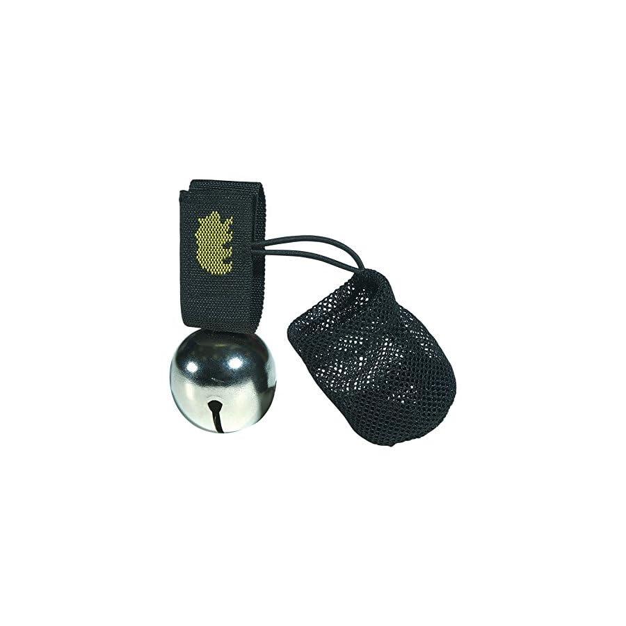 Coghlan's Bear Bell w/Magnetic Silencer Bag & Loop Strap Warns Animals (4 Pack)