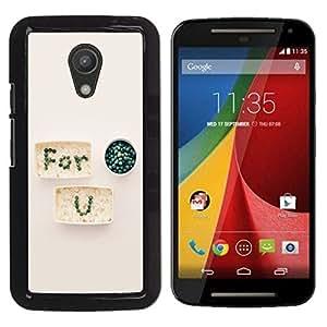 Dragon Case - FOR Motorola G 2ND GEN II - is for you - Caja protectora de pl??stico duro de la cubierta Dise?¡Ào Slim Fit