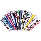 FidgetGear Wholesale Mixed Patterms Pet Dog Cat Bandana Adjustable Cotton Scarf Mix 40 Colors 100pcs