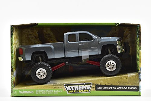 Lifted chevy toy truck
