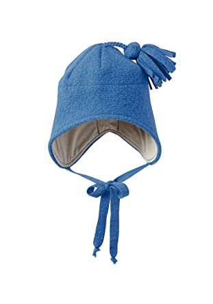 e2a6b4b4d85 Disana Baby Girls  Organic Boiled Wool Hat With Organic Cotton Lining  (6-12Months