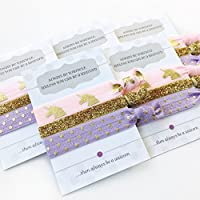 Unicorn Party Favours - Hair Ties (5 Pack)