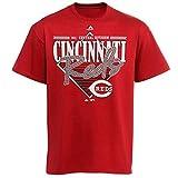 VF Cincinnati Reds MLB Majestic Mens Walk Off Homer Shirt Red Adult Size Medium