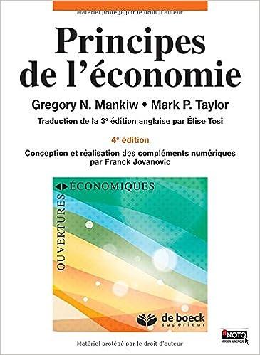 mankiw principes de léconomie