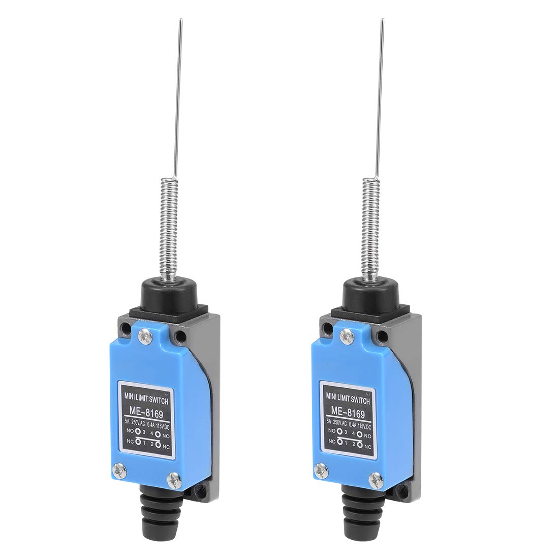 Electrical Buddy Roller Lever Arm Momentary Limit Switch ME-8104 1NC+1NO 2PCS FFC2019