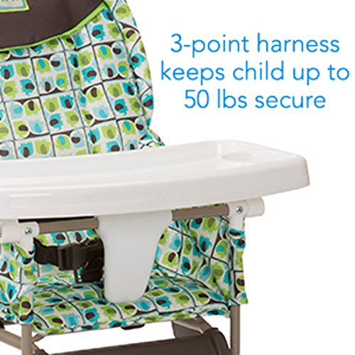 51ZjbGzS82L - Cosco Simple Fold High Chair With 3-Position Tray (Elephant Squares)